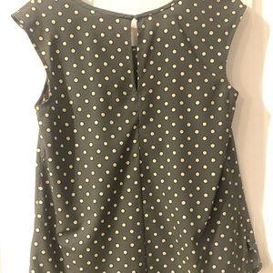 Merona Tops - Gray and white polka dot Merona top from Target